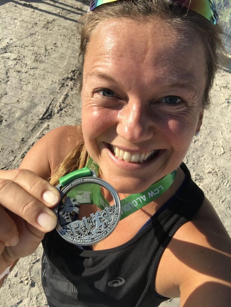 Dritte Medaille für 5km laufen